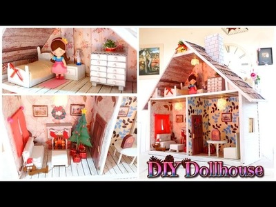 DIY CRAFTS: Make your Dollhouse handmade - Isa ❤️