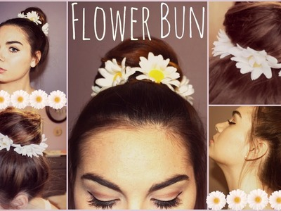DIY: Flower Wreath for your Bun!