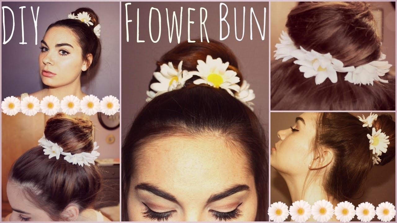DIY: Flower Wreath for your Bun!