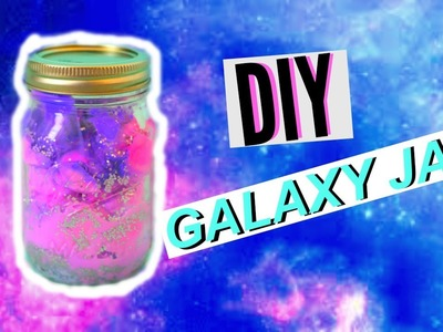 DIY Galaxy In A Jar! | Pastel Colors