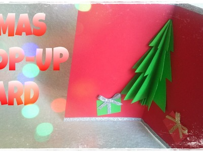 DIY - How To Make a Christmas Card - 3D Christmas Card