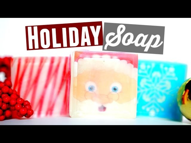 DIY Soap with ANY Image?! ❅ Christmas Gift Idea! ❄