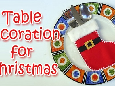 DIY - Table decoration for christmas - Ana | DIY Crafts