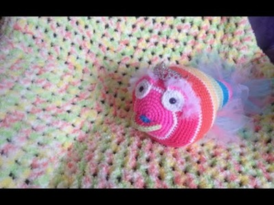 Easy baby blanket. afghan crochet Tamil