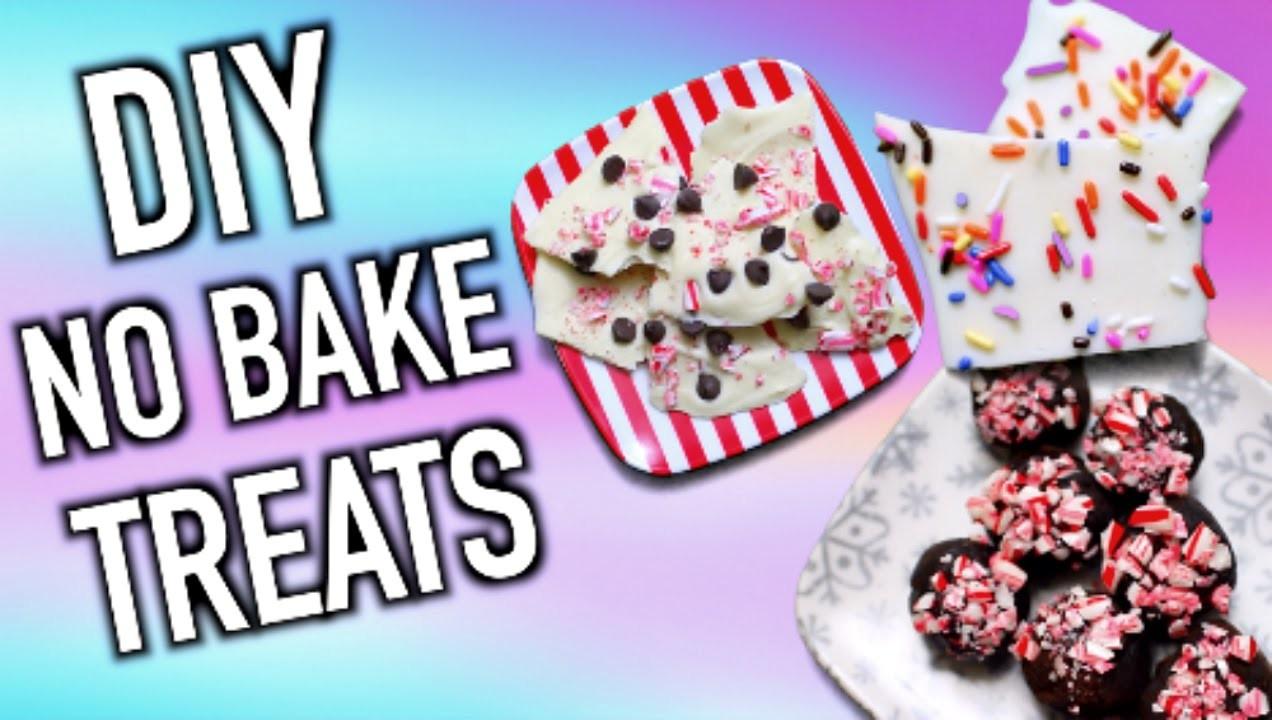 Easy DIY No Bake Treats for Thanksgiving & the Holidays! 2015