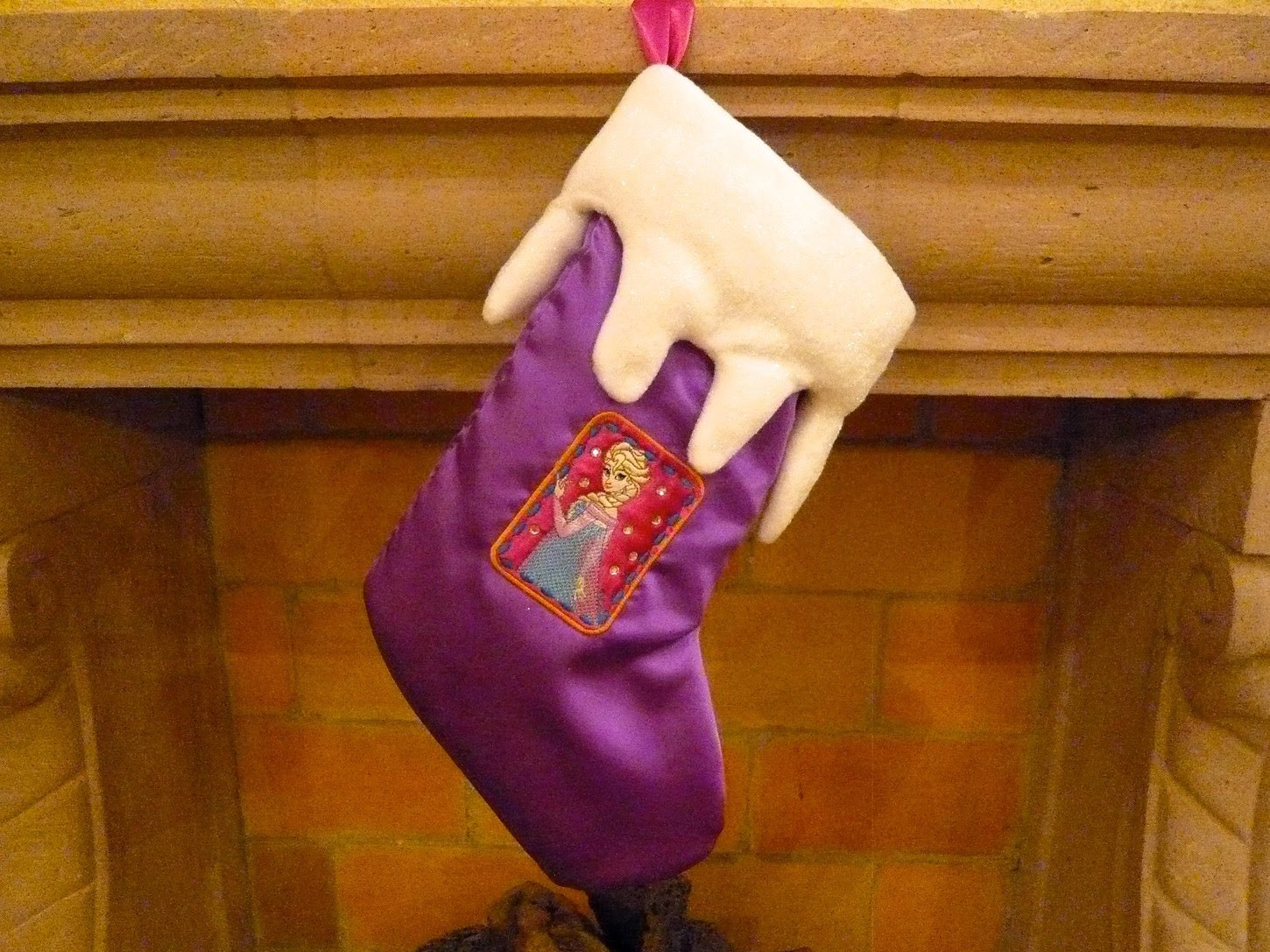 Frozen Christmas Stocking Tutorial with Brother Home Sewing & Embroidery