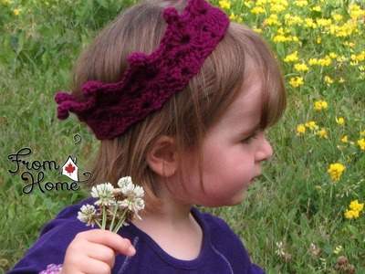HodgePodge Crochet Presents Let's Play! Royal Crown