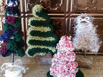 How to crochet a Christmas tree tutorial ~ ornament or decoration