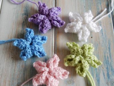 How to Crochet my Pinwheel Star Flower