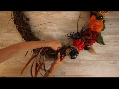 How to DIY a Front Door Wreath that Celebrates the Harvest Season