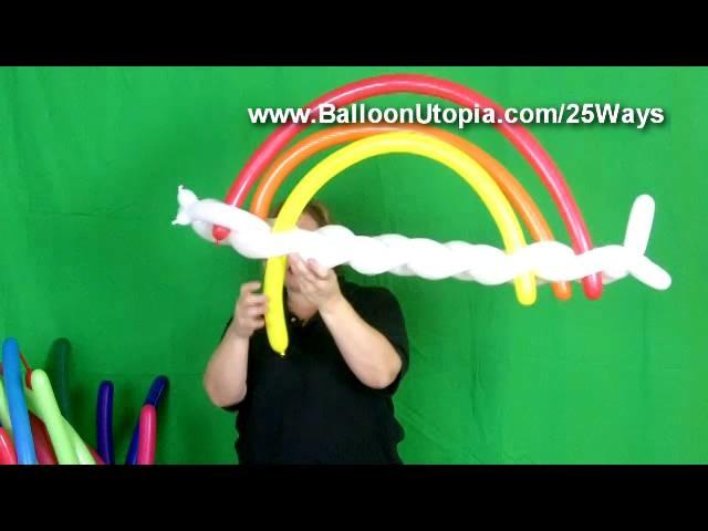 How To Make a Balloon Rainbow