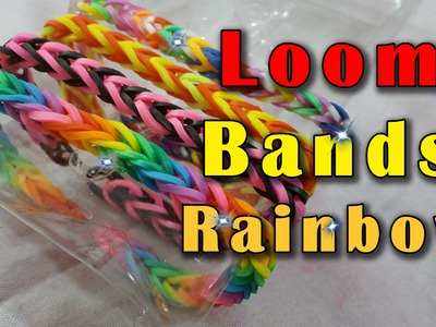 How To Make a Fishtail Rainbow Loom Bands (Very easy) HD