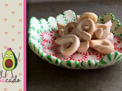 How to Make a Peppermint Candy Bowl