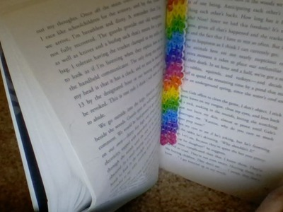 *NEW* Rainbow Loom Bookmark (Desined by me)