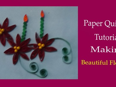 Paper quilling: how to make a christmas cards