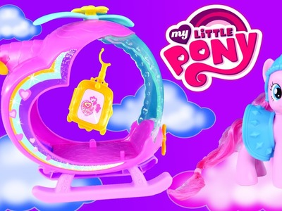 Pinkie Pie's Rainbow Helicopter My Little Pony Play Doh Flight Gear and Play Dough MLP Accessories