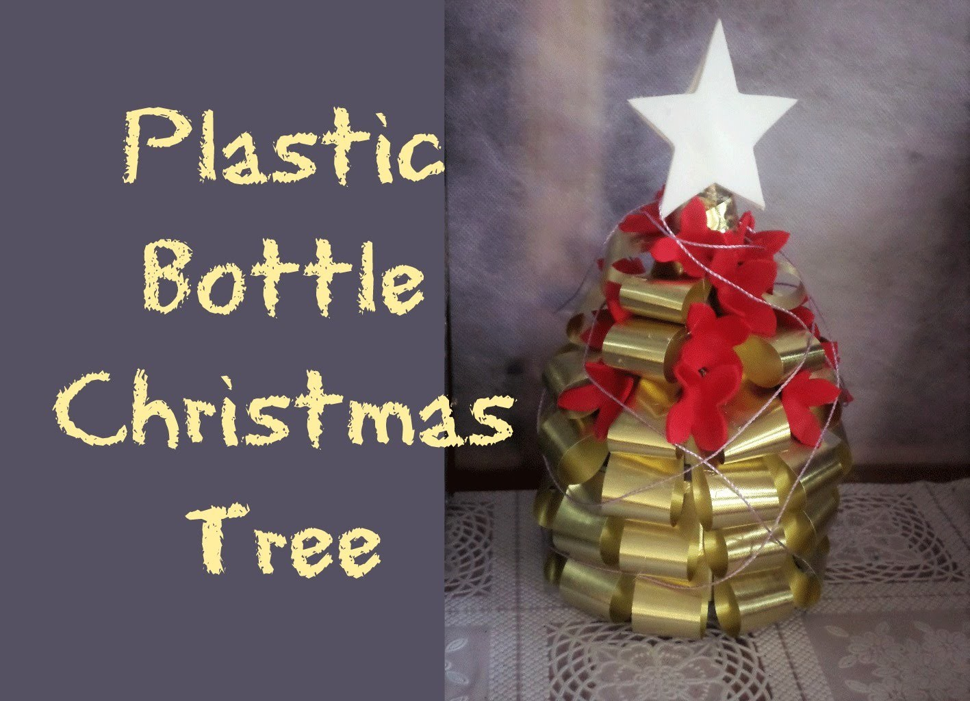 Plastic Bottle Christmas Tree Diy