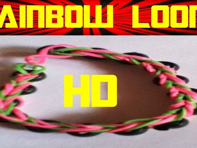 Rainbow Loom Nederlands | Loom Bands | Tutorial, how to, dutch, loom bands HD DIY