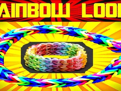 Rainbow Loom Nederlands | Loom Bands | Tutorial, how to, dutch, loom bands