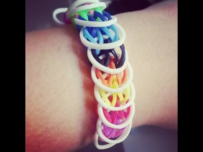 Rainbow Loom - Pulseira Loose Loops PT