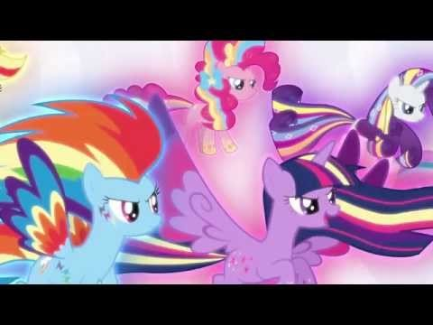 Rainbow Powered Mane Six (Defeating Lord Tirek & Restoring Magic In Equestria)