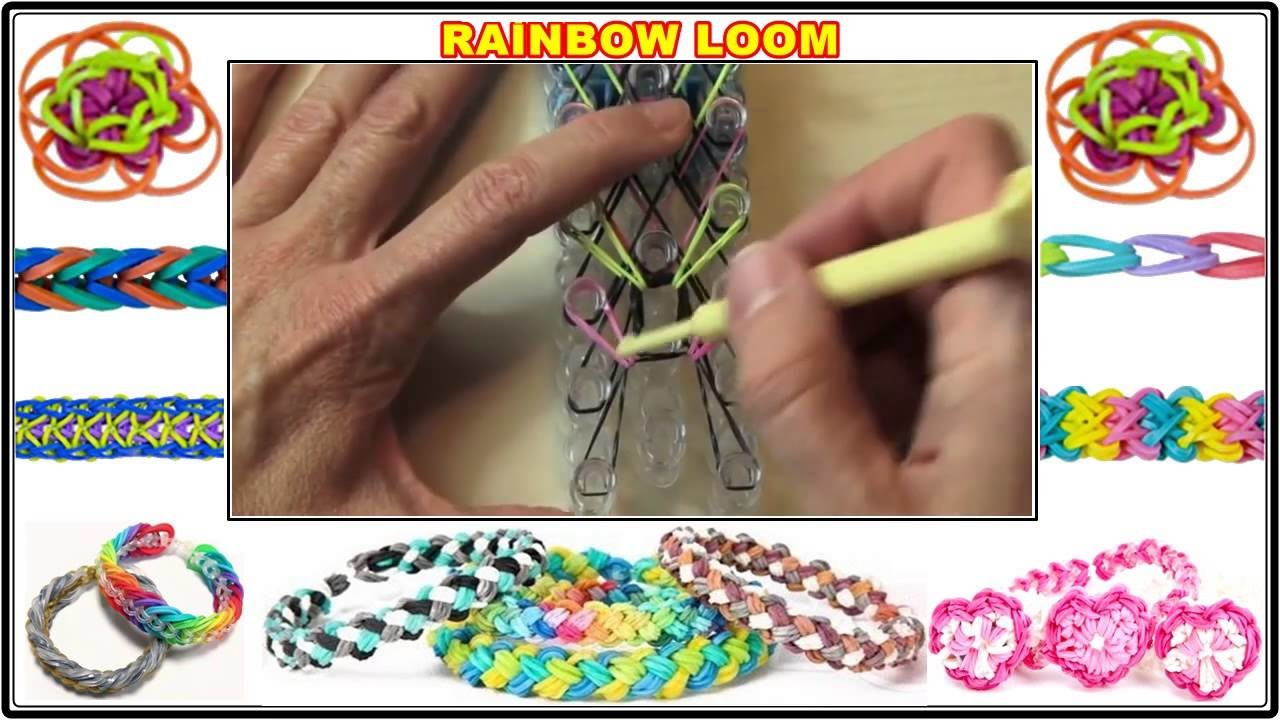 Small Basket Weave Rainbow Loom Bracelet