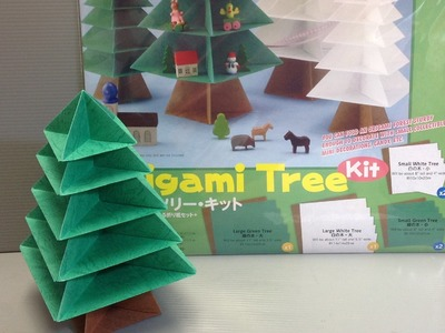 Toyo Origami Tree Kit Origami Paper Unboxing!