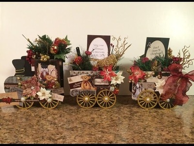 TUTORIAL DESIGNS BY SHELLIE CLASSIC CHRISTMAS TRADITIONS HOLIDAY TRAIN