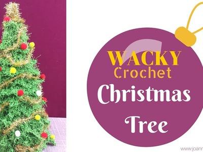 Wacky Crochet Christmas Tree