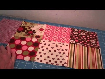 1. Making a Charming Tote. Purse with zipper Part 1