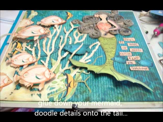 A Mermaid's Tail - Scraps of Darkness photo tutorial