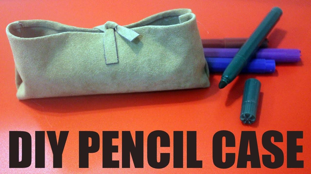 DIY Pencil Case - How to make a pencil case