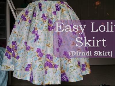 DIY: Simple & Quick Lolita Skirt