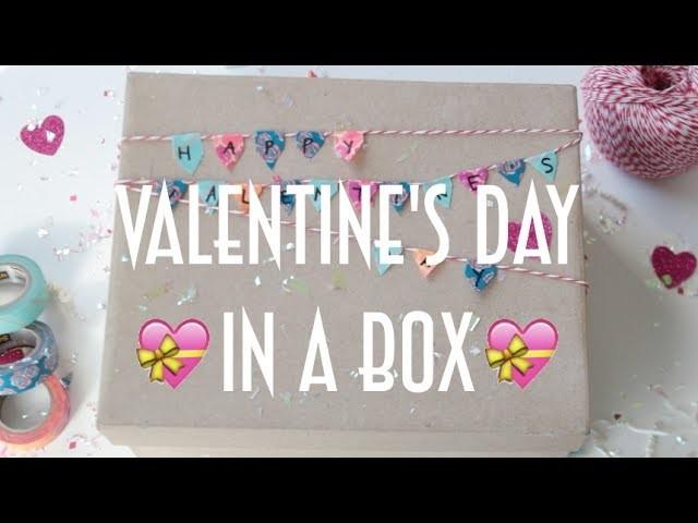♡ DIY: Valentine's Day In A Box
