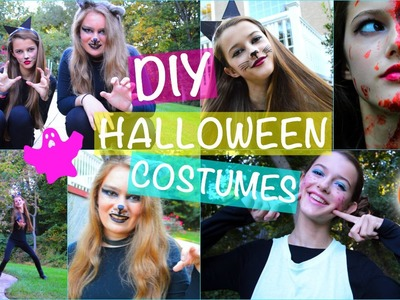 Fast & Affordable DIY Halloween Costumes! Funny, Scary, Cute + Easy