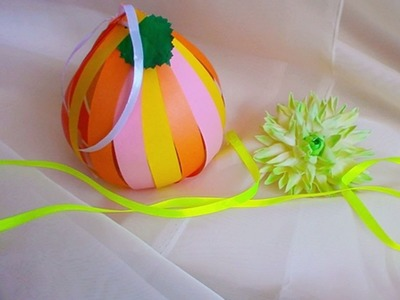 How To Make A Cute Gift Package Pumpkin - DIY Crafts Tutorial - Guidecentral