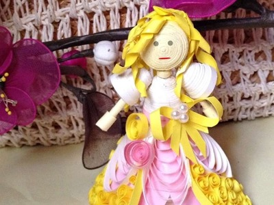 How To Make A Cute Quilled Princess - DIY Crafts Tutorial - Guidecentral