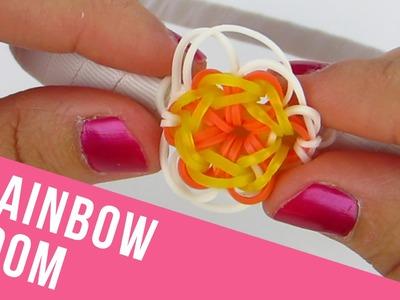 How To Make a Flower Charm Rainbow Loom Headband