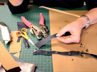 How to make a Leather Bracelet- Ten Seconds Studio