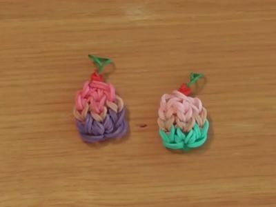 How To Make A Rainbow Loom Cupcake