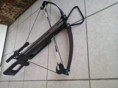 How to make compound crossbow