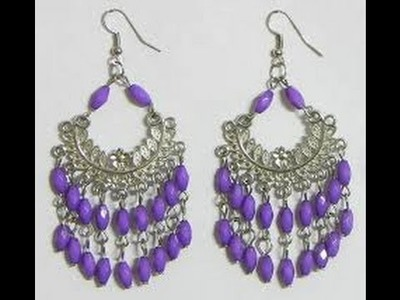 HOW TO MAKE EARRINGS OUT OF NECKLACES & COSTUME JEWELRY DIY TUTORIAL VIDEO