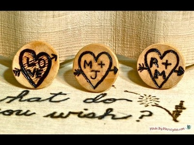 How To Make Engraved Tree Rings With a Woodburner