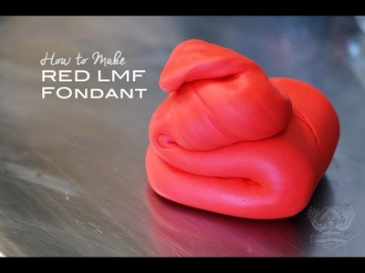 How to make Red Fondant