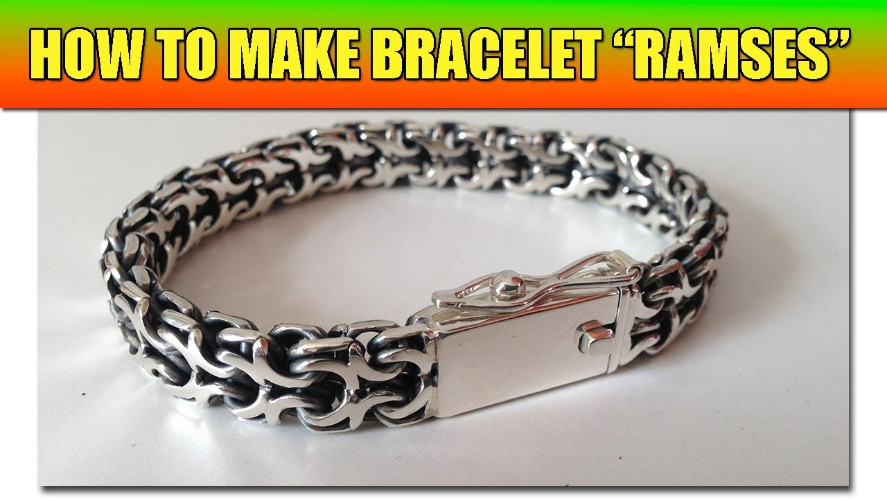 "How to make soldered chain ""Ramses"" - video tutorial 