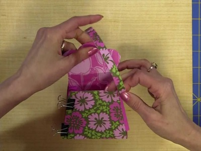 How to Turn a Cricut Purse into an Accordion Purse