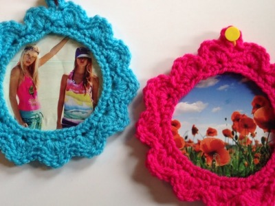Make a Cute Crocheted Frame - DIY Crafts - Guidecentral