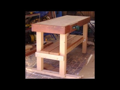 Materials Needed for How to Build a Workbench