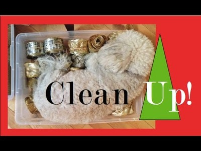 Organization- Christmas Decorations How to CLEAN UP after Christmas