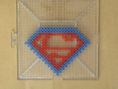 PERLER BEAD: Superman!